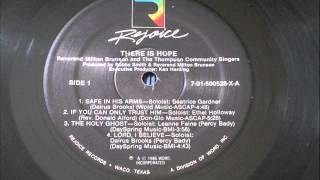 Milton Brunson, The Holy Ghost (Soul Gospel Vinyl 1986) HD