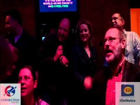 Lotusphere Podcasts - IBM Champions attempt to sing karaoke