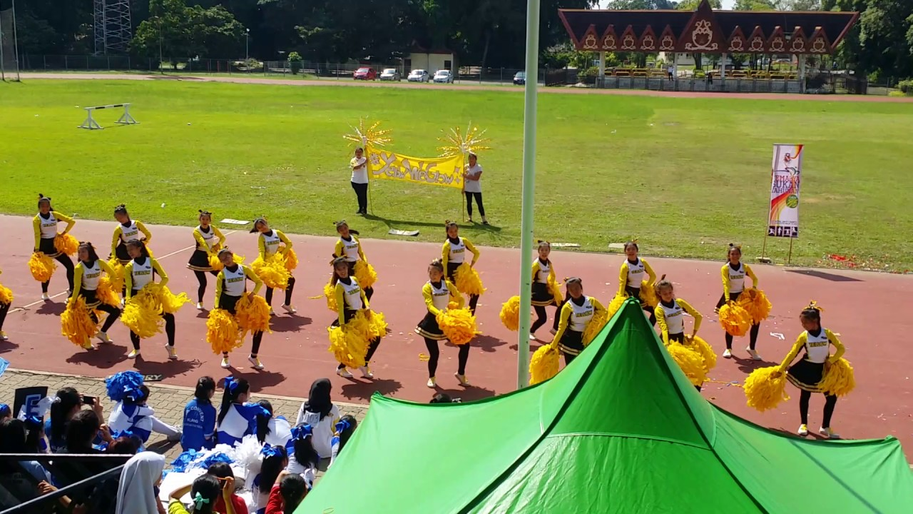 smk convent klang - yellow house cheerleading 2017 - youtube