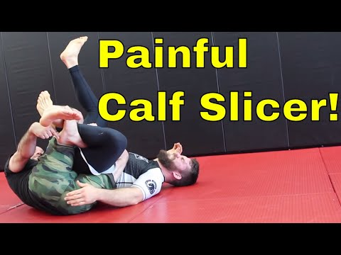 10th Planet Black Belt shows The Truck with a Painful Calf Slicer