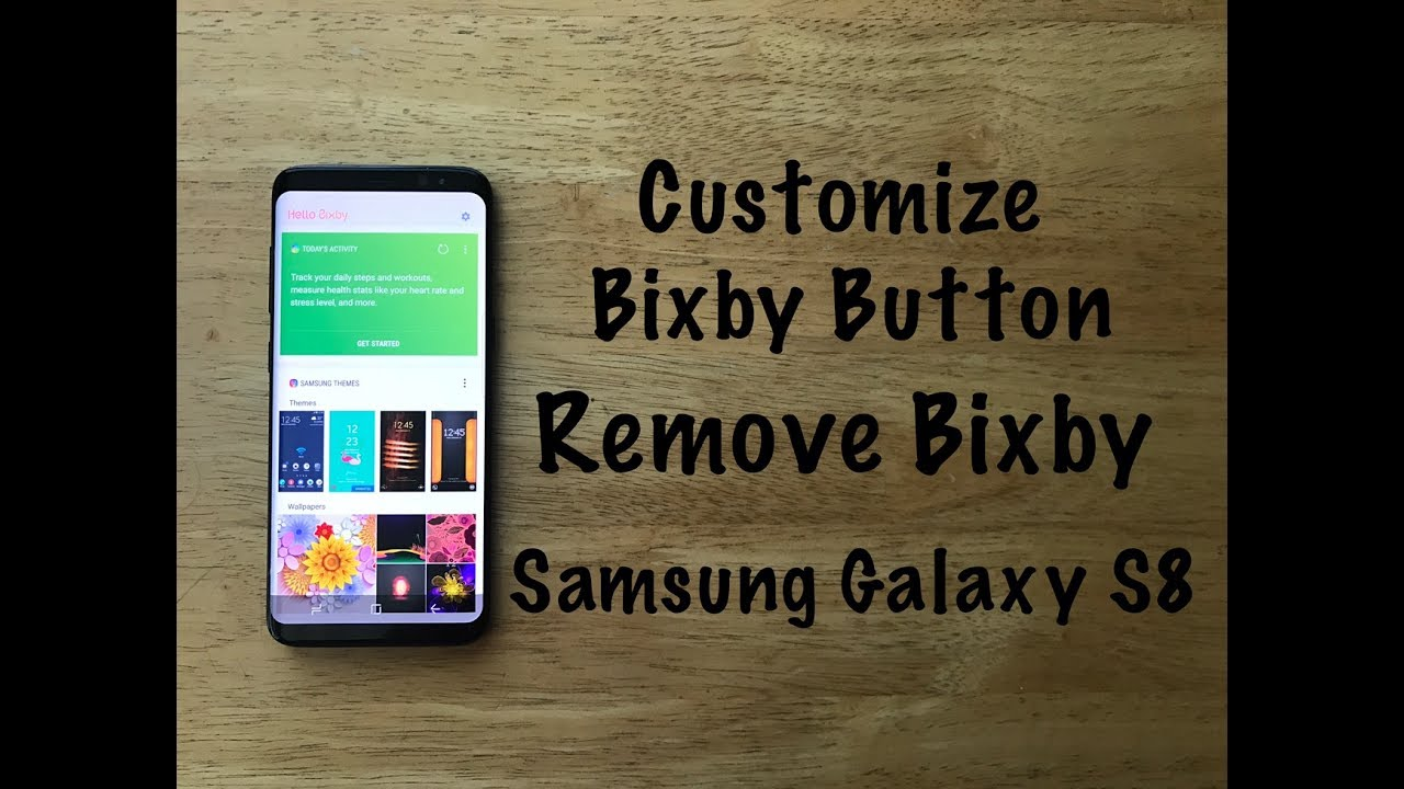 How to Customize Bixby button / Remove bixby from home screen