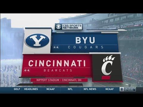 NCAAF 2016 / Week 10 / 05.11.2016 / BYU Cougars @ Cincinnati Bearcats / 720pier