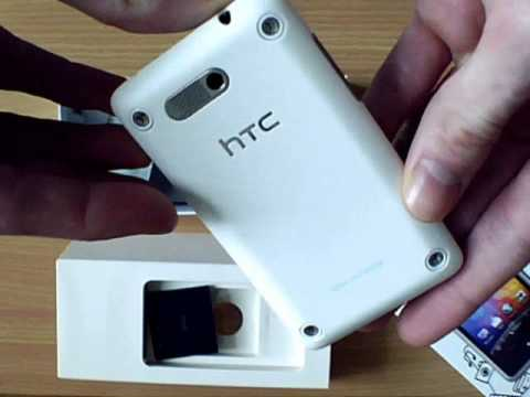 HTC Gratia White Mobile Phone Unboxing by GumMobile.com