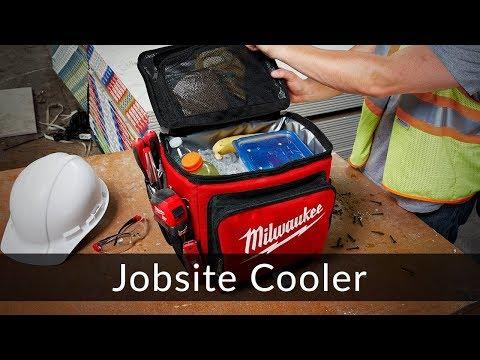 Milwaukee Jobsite Cooler
