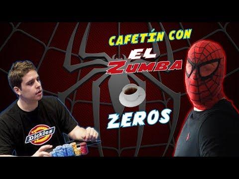 El YouTuber más famoso del mundo del poker hispano   Zeros en el Cafetín con El Zumba Live!