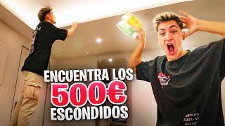 ENCUENTRA 500€ en mi NUEVA CASA! *quién los encuentre se los queda*