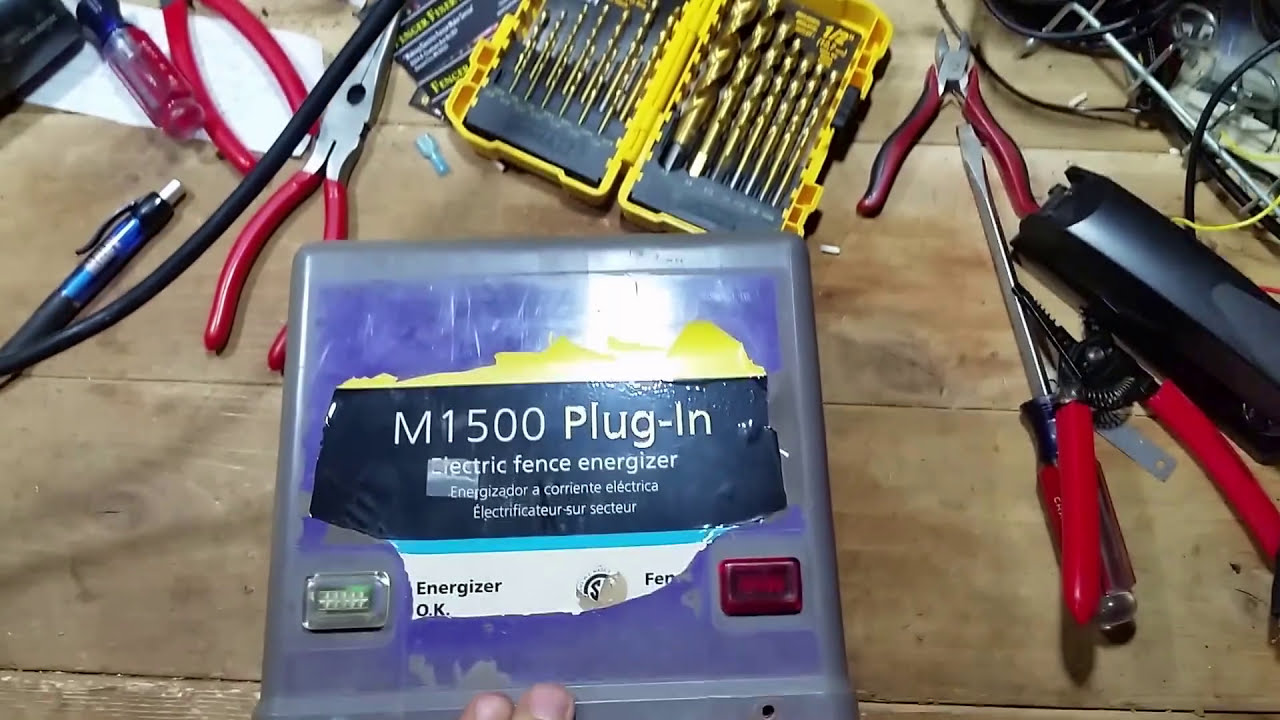 Gallagher M1500 Electric Fence Charger Youtube