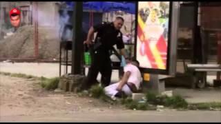 FUGANDOSE DE LA POLICIA BORRACHO | Como corre, el condenao, jajaja