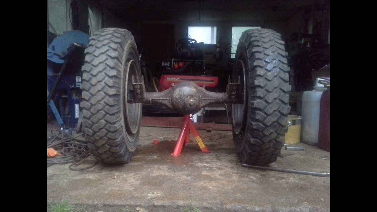 Diy Tractor Accessories : My little homemade garden tractor part walkaround doovi