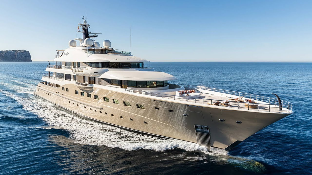 AMELS 272 HERE COMES THE SUN - 83 metre Superyacht