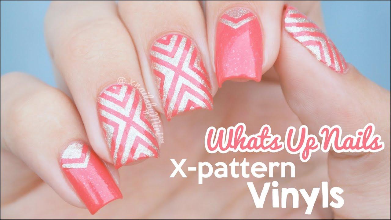 X Pattern Vinyl Design