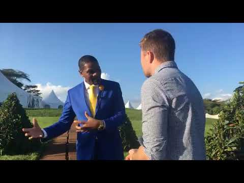 Dr. Munang's Interview with CTGN during the UN Environment Assembly assembly on 4th December 2017