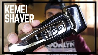Kemei T-Antrix Electric Shaver Review