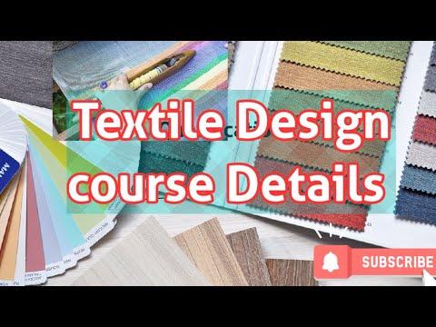 टेक्सटाइल डिजाइन क्या है | Textile Designer course details in hindi | Tetile designer||Qualification