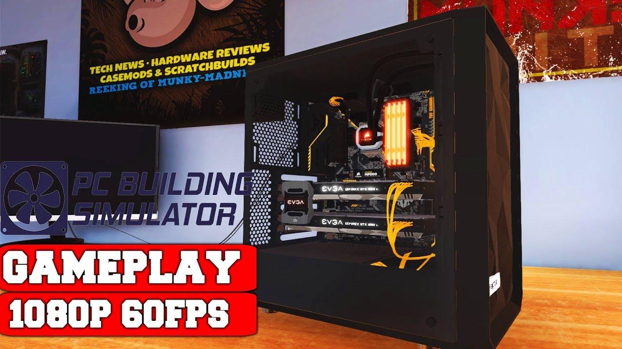 PC Building Simulator Razer Workshop Gameplay (PC)