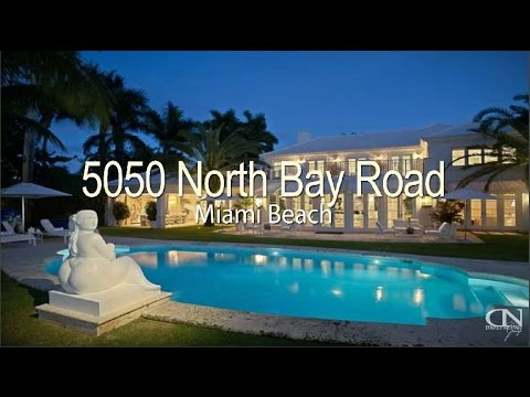 5050 North Bay Road Miami Beach Waterfront House Most Expensive House For Sale
