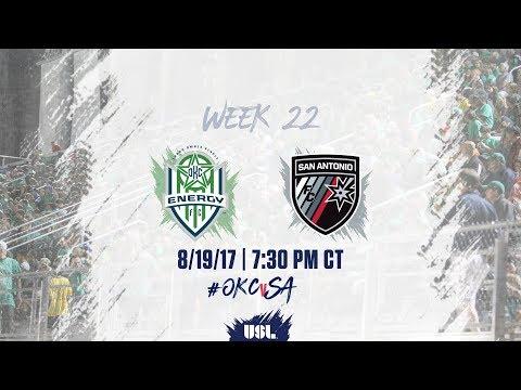 USL LIVE - OKC Energy FC vs San Antonio FC 8/19/17