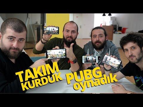 TAKIM KURDUK, 4 KİŞİ PUBG MOBILE OYNADIK!