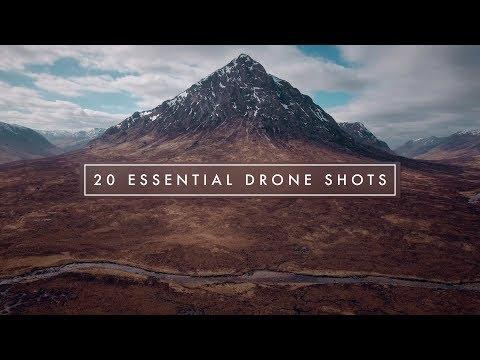 20 ESSENTIAL CINEMATIC DRONE SHOTS!