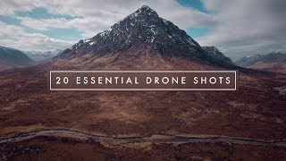 20 ESSENTIAL CINEMATIC DRONE SHOTS!