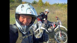 Покатушки на Эндуро Кроссовые мотоциклы профессиональная трасса