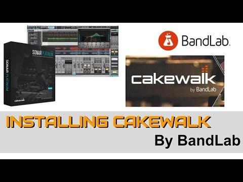 Installing Cakewalk By Bandlab FREE DAW