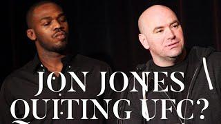 BREAKING NEWS: JON JONES QUITING UFC REACTION