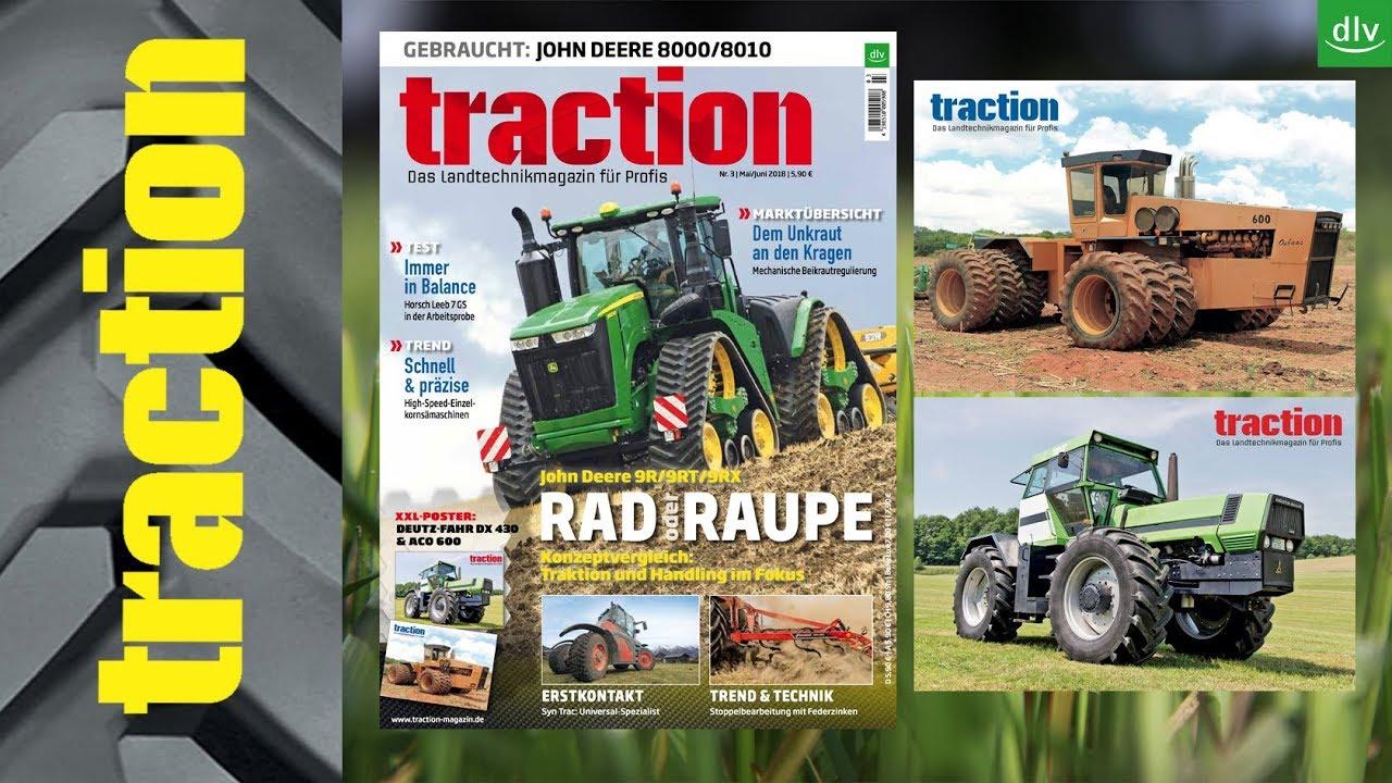 Berühmt NEU: traction Mai/Juni 2018 mit 154 Seiten & XXL-Poster - YouTube &SR_49