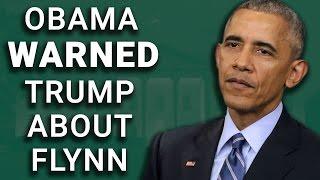 Obama Personally Warned Trump Against Hiring Michael Flynn