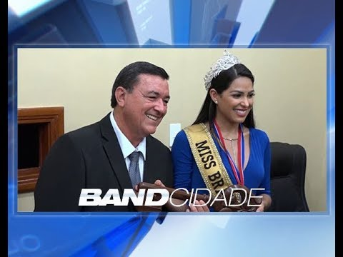 Mayra Dias volta à terra natal após ser coroada Miss Brasil 2018