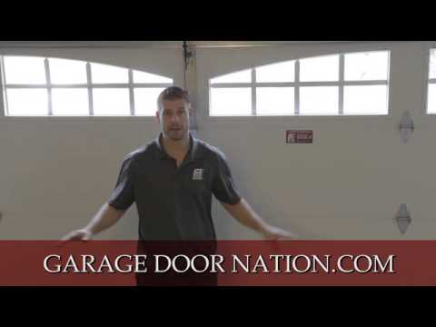 How to Level & Balance A Garage Door