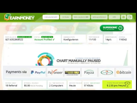 earnmoney.network free 10$ start by ref link Live-Stream