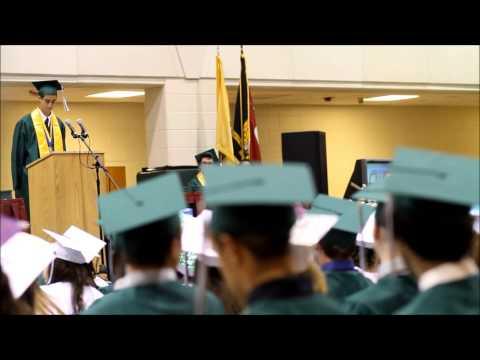 Valedictorian Speech Matthew Powers, Class of 2013 at Cape May County Technical High School