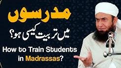 How to Train Students in Madrassas - Molana Tariq Jameel Latest Bayan 23 September 2021