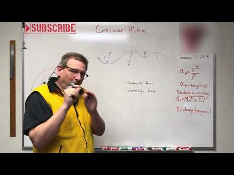 Dynamics - Lesson 9: Curvilinear Motion Acceleration Components