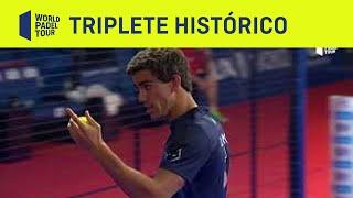 El triplete histórico de Ale Galán y Juan Lebrón | World Padel Tour