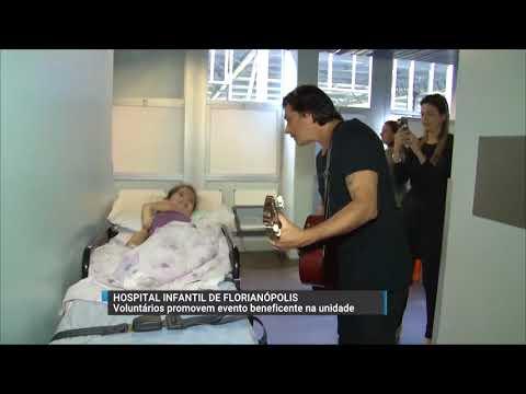 Hospital Infantil da Capital recebe show de voluntários para animar os pacientes