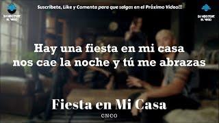 CNCO - Fiesta en Mi Casa (Letra/Lyrics) 2018 HD