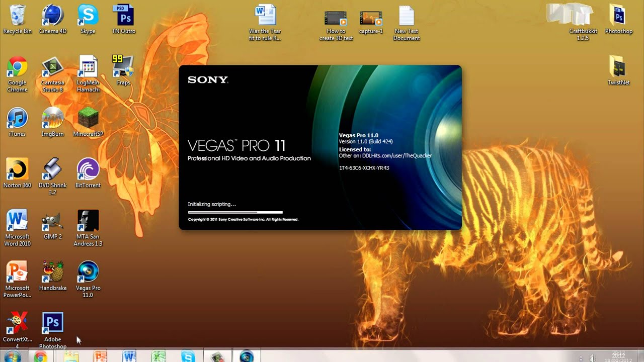 Sony Vegas How to Sony Vegas Pro 11 for free [Portable Version]