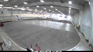 Main Arena Concrete Pour 6.30.2015