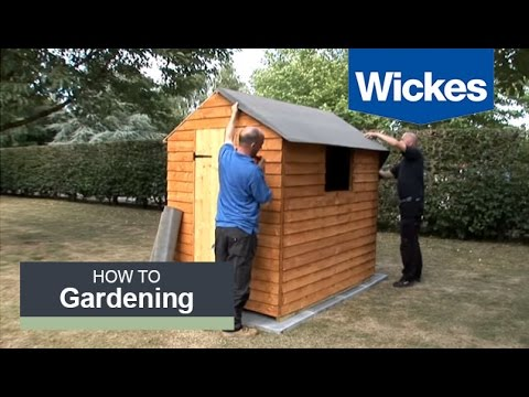How To Felt A Shed Roof With Wickes Youtube