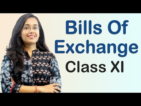 Bills Of Exchange - Endorsement of Bill (Accounts Class 11th)