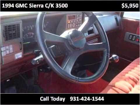 1994 gmc sierra c k 3500 used cars pulaski tn youtube for Bryan motors pulaski tn