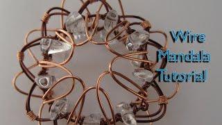 How to Make a Wire Mandala