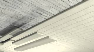Cellar ceiling insulation with PAROC CGL 20cy(Fast and simple way to insulate cellar ceilings. Have a look at this video to see how to insulate cellar ceilings with non-combustible PAROC CGL 20cy lamellas., 2015-02-18T05:29:01.000Z)