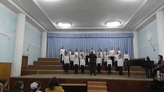 Гала-концерт хорового конкурса (малый зал Нац. филармонии)