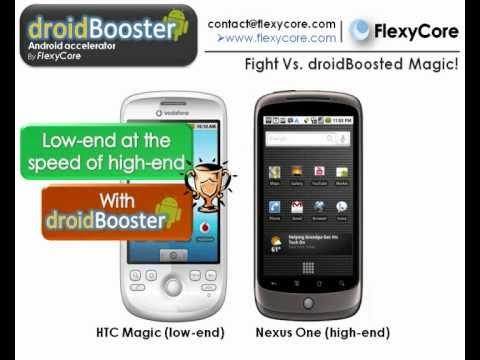 droidBooster: HTC Magic acceleration demo
