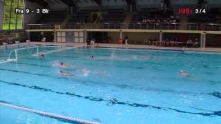 France - Belarus, qualifications for European Waterpolo Championship