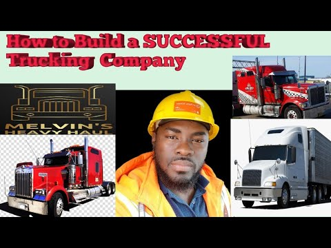 How to Build a SUCCESSFUL Trucking Company Collab  with  TROYSTARZ TRUCKING