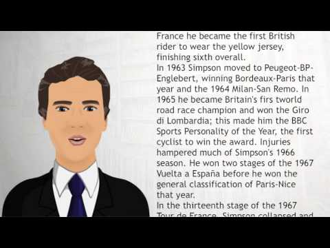 Tom Simpson - Wiki Videos